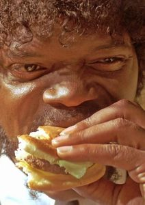 Samuel-L-Jackson-having-a-Tasty-Burger